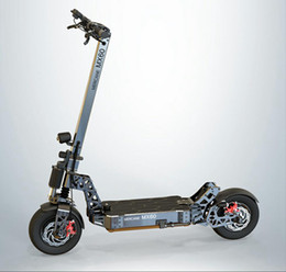 inch tires UK - Mercane MX60, 2400W(5400W), 60V 10 20AH,11 inch tubular tires,removable high capacity battery, double acting dual disc brake scooter