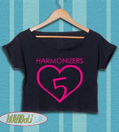 $enCountryForm.capitalKeyWord Australia - Fifth Harmony Shirt Fifth Harmony Logo Crop Top Women Tshirt Tee