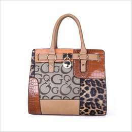 Ladies Handbag Office Australia - wholesale 2018 luxury handbags women bags designer PU leather OL office work bag ladies patchwork hand bags famous brands female big tote