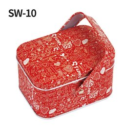 $enCountryForm.capitalKeyWord UK - Decor Gift Box DIY Portable Cute Candy Box Cartoon Mini Iron Birthday Party Supplies Square Chocolate Wedding Favors