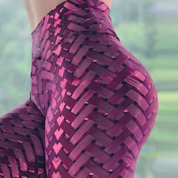 Wholesale hot gold leggings for sale - Group buy Hot Woven Style High Waisted Digital Printed Yoga Pants Go Up BuLift Gym Leggings Tight Fitness for Female