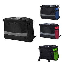 Chinese  Cycling Bicycle Top Frame Front Pannier Saddle Tube Bag Waterproof Light Rain Storage Bag Handlebar Bags Cycling Accessories 4a #148570 manufacturers