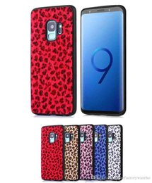 iphone plush phones 2019 - 1pcs For Samsung S9 Leopard Plush Leather Phone Case Classic Luxury Horse Shell S9plus Cover For Iphone 7 8 x xs Max For