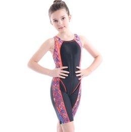 Wholesale Baby Girls Swimwear Summer One Piece Swimsuit Floral Print Children Swim Wear Bathing Suit Free Shipping
