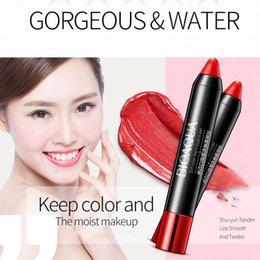 $enCountryForm.capitalKeyWord Australia - Matte Lipstick Moisturizing Waterproof Press Lip Gloss Makeup Velvet Lipgloss Pen Lips Cosmetic Nude Make Up OR88