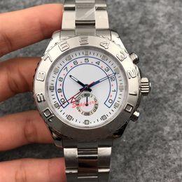 $enCountryForm.capitalKeyWord Australia - Top quality luxury watch 44mm YATCH 116680 116681 automatic watch 2813 movement sapphire glass watches stainless steel watch men wristwatch