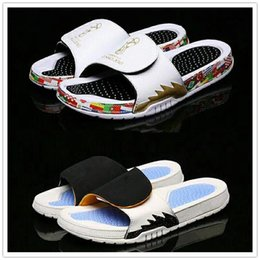 $enCountryForm.capitalKeyWord Australia - Hot Sale-Style Hydro 5 Sandals Russia World Cup Massage Slippers for Top Mens Slides Sports Shoes 5s Zapatillas Casual Slipper Size 40-47