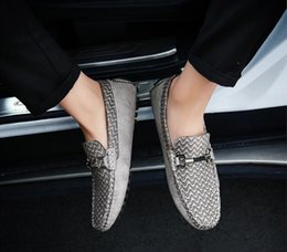 Picking Shoe Australia - New Listing Moccasins Slip On Shoes Driving shoes Sizes Large Picks Moccasins Men Shoes Flat Loafer