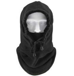 $enCountryForm.capitalKeyWord NZ - New design adjustable Winter Couple Hat Tactical Balaclava Ski Face Mask Fleece Hood Hat Sports Mask Warm Windproof Neck Thermal Men Woman