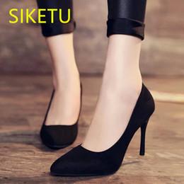 Navy Wedding Sandals Australia - SIKETU Free shipping Spring and autumn women Fashion high heels summer wedding pumps g458 SEX sweet sandals