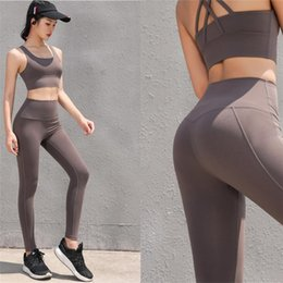 c6b7f856ef 2019 Hot sale sport set women Fitness brand sexy fitness suit gym clothing  for women underwear set 2pcs sports workout crop tops  484475