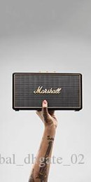 Discount computer phone case hot good quality Marshall MARSHALL Stockwell Wireless Bluetooth Speaker Portable Rock Audio Portable Speaker with Leathe