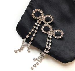 jewelry earrings 18K gold plated gold finish and crystal brass earrings women wedding earrings on Sale