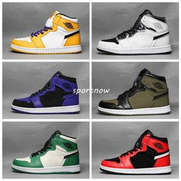 $enCountryForm.capitalKeyWord Australia - New Classic 1 Chicago High OG RED WHITE Power Blue men basketball shoes 1s I sports sneakers trainers high quality