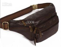 $enCountryForm.capitalKeyWord Australia - Leather Pocket Fashion Cellphone Waist Bag outdoor Casual Aslant Bag 23*14*8 cm Best cheap Bag free shipping