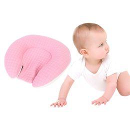 $enCountryForm.capitalKeyWord Australia - Baby Pillow Prevent Baby Flat Head Pillow Positioner Cotton U Shaped Neck Support