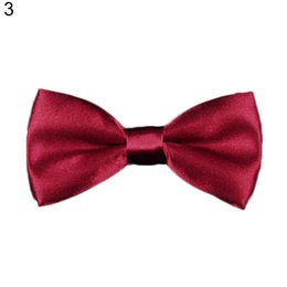 mens bow ties animals Canada - Boy New Good Quality Bowtie For Men Women Banquet Wedding Party Groom bow tie Butterfly Black Red White Mens Bowties