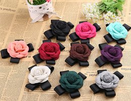asian party suits Australia - Colorful Handmade Cloth Art Fabric Flower Brooch Shirt Shawl Coat Suit Pin Badge Weddings Party Banquet Brooch Cloth Accessories