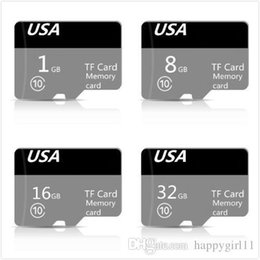 tf memory cards 1gb Australia - Factory price Genuine Capacity DZ New Micro FLash Memory Card Class 10 TF FULL CAPACITY 32GB 16GB 8GB 1GB