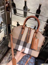Female big bags online shopping - Tote Luxury Women handbags Leather Handbags Big Women Bag High Quality Casual Female Bags Trunk Tote Spanish Brand Shoulder Bag Ladies Walle