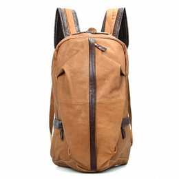 $enCountryForm.capitalKeyWord UK - Wholetide- Nice Men Cowhide Genuine Leather Fashion Vintage Backpack Teenager 15.7 Inch Backpack Large Capacity Shoulder Traval Bag Li-1278