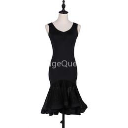 172eedfd4746 Waltz Dance Costume Australia - Black Professional Latin Dance Dress for  woman Ballroom Dance Competition Dresses