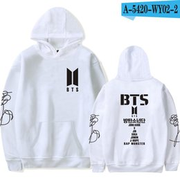 $enCountryForm.capitalKeyWord Australia - NEW BTS Bulletproof Youth League New Album Love Yourself New Leisure Furring Should Aid Couple Hat Guard Clothes