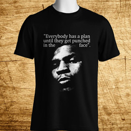 2e39783ae62c80 New IRON MIKE TYSON QUOTES Boxing Champion Legend Men s Black T-Shirt Size  S-5XL white black grey red trousers tshirt