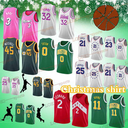 06256d52190 ... coupon for christmas shirt 3 dwyane wade 21 joel embiid 11 kyrie irving  45 donovan mitchell