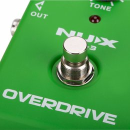 Overdrive Pedal Effect Australia - NUX OD-3 Overdrive instruments de musique Effect Pedal True Bypass Natural Overdrive Sound Guitar Pedal Accessories Musical Instruments