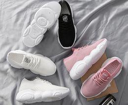 E Cloths Australia - women's Net cloth shoes Spring Fashion Women Casual Shoes Suede Leather Shoes Women Sneakers Ladies White Trainers Chaussure Femme#es