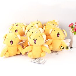 $enCountryForm.capitalKeyWord Australia - Kawaii Plush Toy Cardcaptor Sakura Dolls Cerberus Cute Plush Doll Drawstring Pocket 10pcs lot 10cm