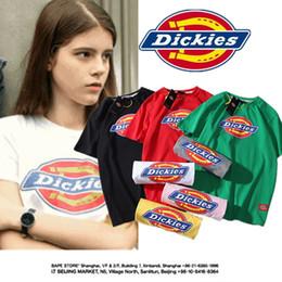 Women Hiphop T Shirt Australia - Dickies Women Skateboard T shirts Summer Teenager Hiphop Casual Street Tops Short Sleeved Clothes Tees