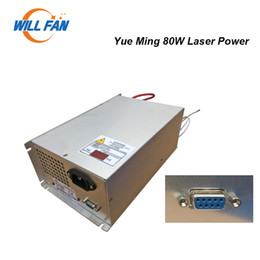 co2 box Canada - YueMing 80W Co2 Laser Power Supply For Yue Ming Laser Engrave Machine 80w Laser Box Parts