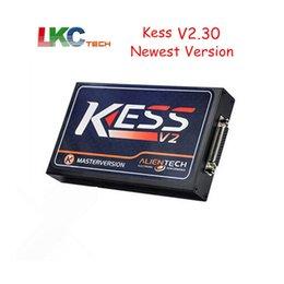 Ecu Programmer Kit Australia - DHL Free ! High Quality KESS V2.30 V2 OBD2 Manager Tuning Kit HW V4.036 No Tokens Limited 2 Master Version ECU Programmer