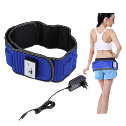 electric fat burning massager Australia - Electric Body Vibrating Massager 5 Motors Slimming Belt Body Waist Leg Slimming Fat Burning Weight Losing Body Shaping Machine