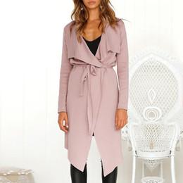 $enCountryForm.capitalKeyWord Australia - Womens Designer V Neck Jackets Spring Autumn Long Sleeve Outerwear Fashion Womens Cardigan Coat with Saches