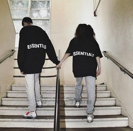 $enCountryForm.capitalKeyWord NZ - Fog t shirt Essentials mens t shirts Fear of god tshirts women fashion Outdoor sport shirt men Street hip hop Loose Large size hot trend tee