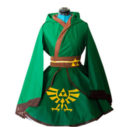 $enCountryForm.capitalKeyWord UK - New Anime The Legend of Zelda Link Kimono Lolita Dress Cosplay Costume