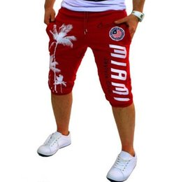 white city shorts NZ - Zogaa 2019 Fashion City Straight Spring and Summer Mens Five-pants Sports Hip-hop Trend Printing Loose Shorts Brand Men Clothing Y200511