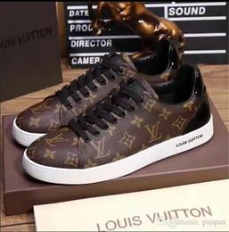 2019 Marcas Plataforma Clássico Casual Sapatos Casuais Esportes Skateboarding Sapatos Mens Sneakers sapatos De Veludo Heelback Vestido Sapato Esportes Tênis nenhum venda por atacado