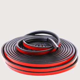 Universal change online shopping - Car Rubber Seal Noise Universal Deur Rubber Auto Door Insulation Seal Car Accessories Adhesive Strips For