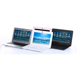 Chinese  10.1 Inch Netbook Android 6.0 system 1G 8G Mini Computer Laptop Black White Pink Silver manufacturers
