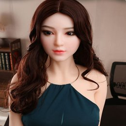 life size inflatable man UK - Inflatable Semi-solid silicone doll Japanese sexy sex doll life size love real love toy for men