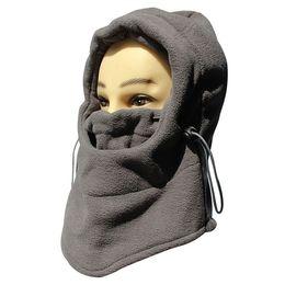 Skull Snowboard Face Mask Australia - Winter Multifunctional Cycling cap Warm windproof Face Mask Cap Ski Bike Mask fleece lycra Snowboard Shield skiing Hat Cold Head wear
