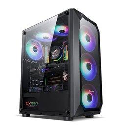 Venta al por mayor de RYZEN5 2600 GTX 1050TI / RX550 4GB Gráficos Computadora de juegos de escritorio PC 3.9GHZ 6 Core, 8GB DDR4, 1TB HDD, USB, Windows 10