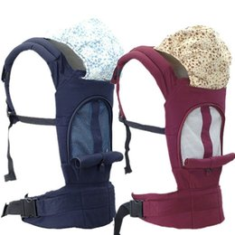 Carry Sling Strap Australia - Soft Breathable Multi-function Strap Cotton Baby Backpack Infant Baby Carrier Sling Wrap Rider