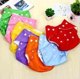 Adjustable Cloth Diapers Australia - Adjustable Reusable Washable Baby Cloth Diaper Nappy Newborn Cloth Diapers Baby Diapers Cloth or mesh Diaper
