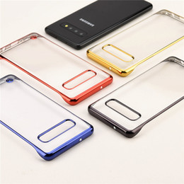 $enCountryForm.capitalKeyWord Australia - For Samsung Galaxy S10e S10 Plus S10+ Case Cover Clear Hard Back Bling Side Bumper with Finger Ring Loop