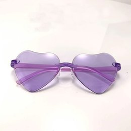 $enCountryForm.capitalKeyWord NZ - Frameless Heart Sunglasses Women brand designer Cat Eye Sun Glasses Retro Love Heart Shaped Glasses Ladies Shopping Sunglass FML